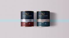 Designer: Thnadech Kummontol  Project Type: Concept  Location: London, United Kingdom  Packaging Contents: Home paint   Heritage, Revived....