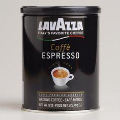 One of my favorite discoveries at WorldMarket.com: Lavazza Caffe Espresso