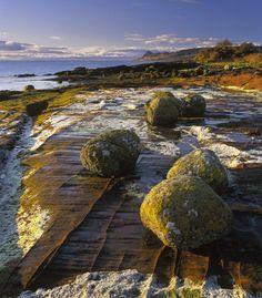 Arran Erratics : Pirates Cove, Arran, Scotland : Photography of Ian Cameron Highlands, Land Of The Brave, Isle Of Arran, Pirates Cove, Scotland Travel, Scotland Trip, England And Scotland, Natural Wonders, Outlander