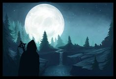 The secret forest by Jimpaw.deviantart.com on @deviantART
