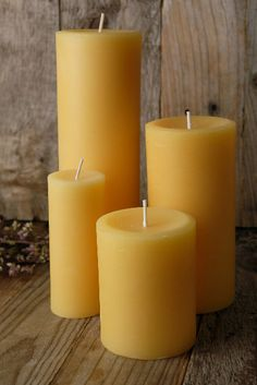 100% beeswax candles are long-burning, soot free dripless and burn clean. Each is individually hand-poured in small batches.