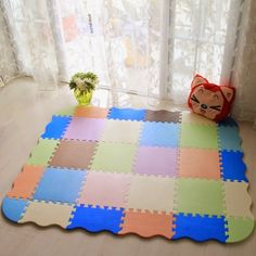 baby puzzle play mat kids room rugs my floors pinterest rh pinterest com mats for children's rooms Clean Room Floor Mats