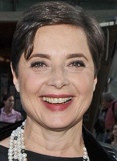 could i please age as elegantly as isabella rosselini? what a beautiful woman.