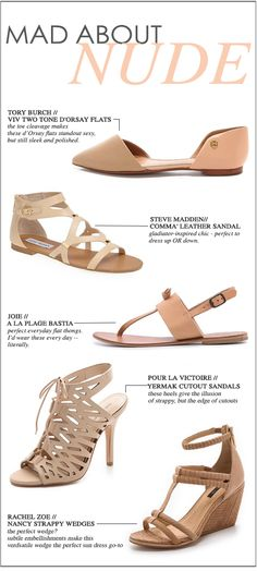 Mad About Nude // 5 Nude Shoes That are Perfect For Summer