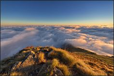 Amazing #sunset. Oasi Zegna, #Italy.   foto by Giuseppe Vergerio