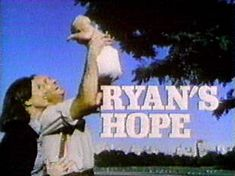 Ryan's Hope - I am not old enough to really remember when this was on the air, but I watched a lot of it on Soap Net.  You just can't beat the classics.