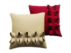 Almofada em feltro de lã com estojo removível Coleção Hoop by Anne Kyyrö Quinn | design Anne Kyyrö Quinn