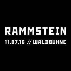 Rammstein [Waldbühne] Berlin - July 11, 2016 (SOLD OUT) | Berlin