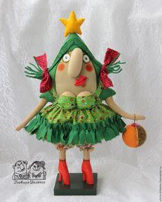 Купить Чудо-ёлка - зеленый, елка, елка новогодняя, Новый Год, новый год 2016, рождество