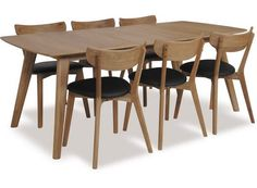 DM - RHO Dining Table Extension 1800 and Pero Chairs0
