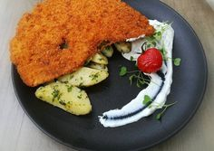 Bécsi szelet | Linzi receptje - Cookpad receptek Pancakes, Food And Drink, Meat, Chicken, Breakfast, Linz, Morning Coffee, Pancake, Crepes
