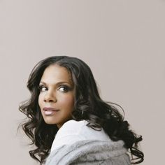 Audra McDonald--sat not 20 feet from her last night while she sang for nearly two hours. She's magical.