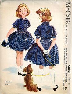 McCall's 5086 by Helen Lee © 1959.