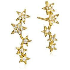 Tai Jewelry Star Earrings Star Earrings, Silver Earrings, Silver Jewelry, Tai Jewelry, Bikini Luxe, Jewelry Website, Stars, Handmade, Accessories