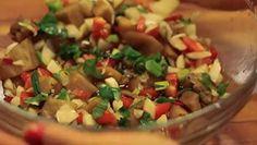Filipino Eggplant Salad Best Filipino Recipes, Filipino Dishes, Asian Recipes, Ethnic Recipes, Cooking Videos, Food Videos, Eggplant Salad, Pancit, Asian Cooking