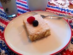 White Texas Sheet Cake - As soon as I tasted this cake – I knew, I had to have the recipe, I had to share it on the blog – what the world needs now is this cake. One bite will start a chain reaction of all thin…