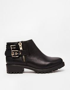 New Look Eagle Biker Ankle Boots
