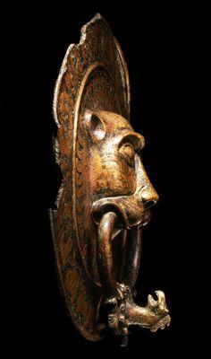 Door Knockers, Middle Ages, Lion Sculpture, Pottery, Statue, History, Artist, Ceramica, Historia