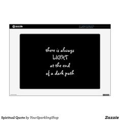 Spiritual Quote Laptop Decals