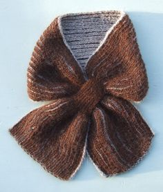 Re Knitting: A Brioche Stitch Scarf