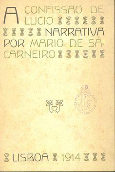 A Confissão de Lúcio, Mário de Sá-Carneiro