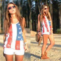 American woman...