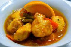 Pollo Oriental a la Naranja (Receta Chino-estadounidense) - http://www.mytaste.mx/r/pollo-oriental-a-la-naranja-receta-chino-estadounidense-1312720.html