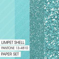 Glitter&Plain PAPER Limpet Shell PANTONE by Fashiontelligent