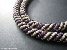 Best Spiral Rope Bead Patterns - http://www.guidetobeadwork.com/wp/2014/01/best-spiral-rope-bead-patterns/