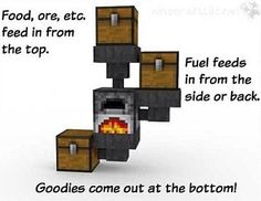 The most handy and useful design for mass smelting/ cooking! It really works!