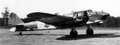 Bristol Blenheim Mk IV bomber on March 7, 1940, with the Finnish Air Force:
