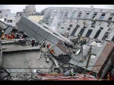 BILLEDREPORTAGE Flere bygninger kollapset efter jordskælv i Taiwan | Nyheder | DR