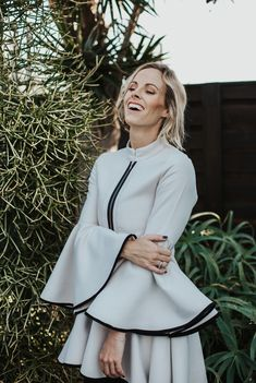 Kathrin Kidger Designs is a proudly South African Ladieswear brand that focuses on timeless style, glamour and elegance. Kathrin Kidger Designs creates unique and high-quality garments that relate to each woman within a diverse South African Context. Woman Within, Timeless Fashion, Bell Sleeve Top, Runway, African, Glamour, Elegant, Unique, Life