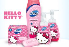 Dial Hello Kitty Products