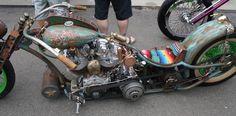 shovelhead rat bike - Google Search