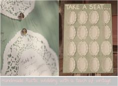 table plan -  Handmde rustic wedding with a touch of vintage--picture only