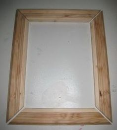 Simple instructions on how to make your own picture frame