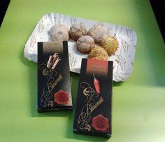 Quanto siamo golosi? questo è solo un esempio: paste di mandorla e cioccolato di #Modica!