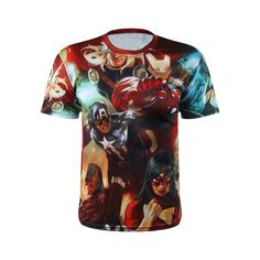 The Avengers Super Hero Mesh Ventilate Superhero Man T Shirt Exercise Shirt Men Short Sleeve Skintight Bicycle Jersey Avengers Team Members, Shirt Print Design, Shirt Designs, Graphic Shirts, Printed Shirts, Superhero Man, Compression T Shirt, Marvel Shirt, Moral