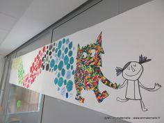 La couleur des émotions : Le monstre tout barbouillé d'émotions a réussi à trier ses émotions (art visuel) – MC en maternelle
