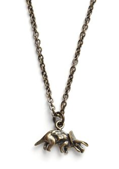 Triceratops Special Species Necklace - don't we all need dinosaur necklaces? $14.99