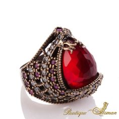 #unique Hareem Exclusive Collection Ring HS-0024  #jewelry #ottoman