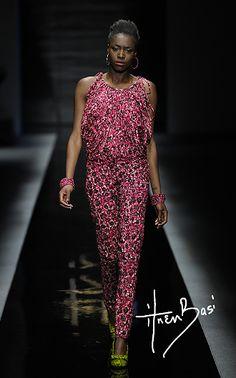 Uju top; Funmi skinny pants; Oghogho bangles; Emeka footwear