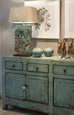 Decor, Wood Interior Design, Farmhouse Decor Living Room, Funky Furniture, Rustic Sideboard, Living Room Display Cabinet, Home Decor, Home Deco, Shabby Chic Room
