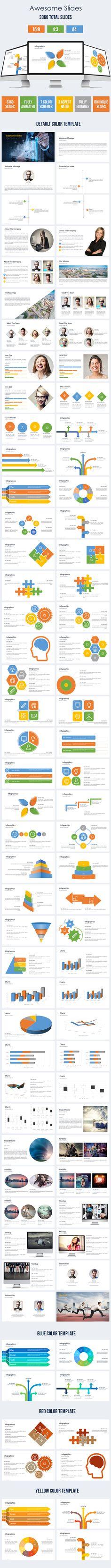 Profitable Multipurpose Powerpoint Template Template - Awesome logo presentation template scheme