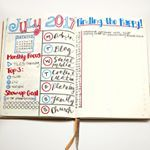 I still havent landed on a monthly layout that I love so Im always experimenting This month I included my primary monthly focus top projects a section to track my showup goal focus areas for each day of the week and a place to record something that made me happy each day bulletjournalmonthlylog bulletjournal bulletjournaljunkies bulletjournaling bulletjournallove bulletjournalcommunity plannercommunity planneraddict plannerlove businessplanning sublimereflection bossgirlbujo…