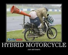 funny motorcycles pictures | Hybrid Motorcycle | Funny Pictures