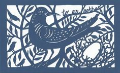 Mothers' Day paper cut £49.00 from Sunk Island Crafts