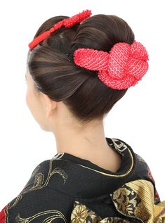 Traditional Hairstyle, Japanese Kimono, Japanese Style, Hair Setting, Geisha, Updos, Wedding Hairstyles, Hair Beauty, Hair Styles
