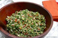 Raw Cauliflower Tabouli | Gluten Free Tabouli | Healthy Blender Recipes